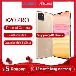 Перейти на Алиэкспресс и купить cubot x20 pro 6gb+128gb ai mode triple camera 6.3дюйм. fhd+waterdrop screen helio p60 cellphone android 9.0 face id cellura 4000mah