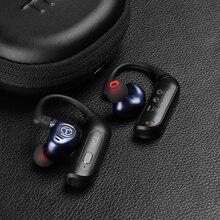 AK טורנירים BT20S פרו APTX אלחוטי Bluetooth 5.0 HIFI אוזניות 2PIN/MMCX QDC מחבר להחלפה תקע אוזן וו עבור טורנירים V90 V90S VX