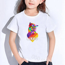 Boys girls kids likee t shirt toddler girl tops clothing teenagers