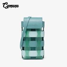 купить Mobile Phone Bag Bandbag For Women 2019 Openwork Woven Mini Shouder Bag Crossbody Bags Fashion Small Bag Ladies Small Bag Purse по цене 1440.05 рублей