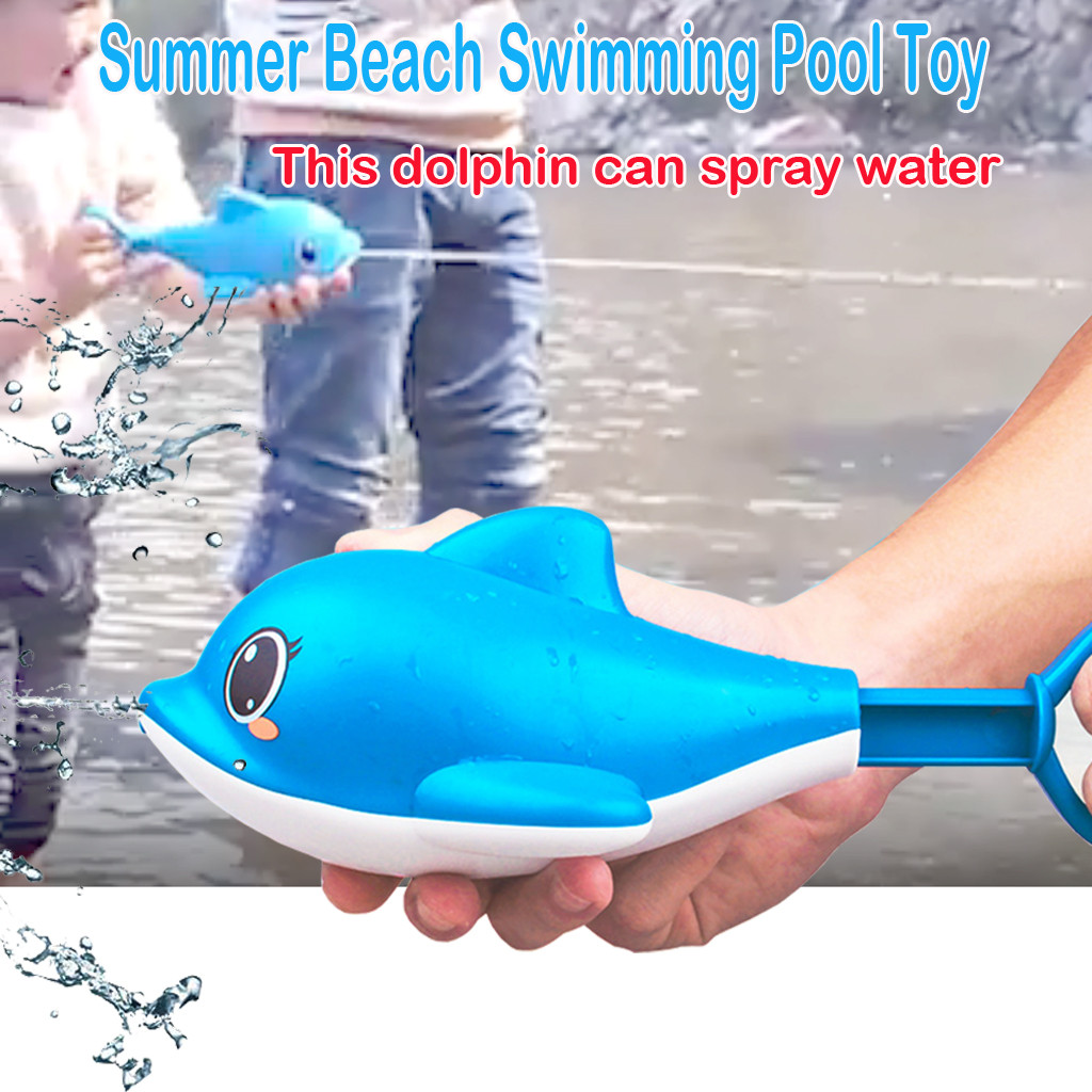 Fun Water Pistol Shooter Super Cannon Toy Summer Beach Swimming Pool Toy Happy Water Cannons For Children Toys Water Guns