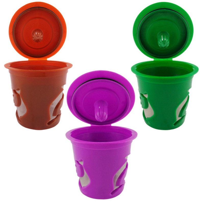 New 1Pcs K-Cup Refillable Reusable Plastic K-cups Coffee Filter For Keurig Hot Plus 2.0