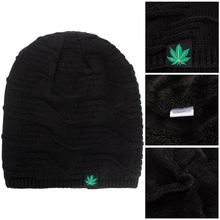 Шапка бини в стиле хип хоп женская Тёплая вязаная шапка панк