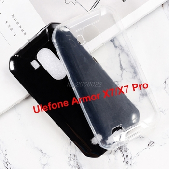 Перейти на Алиэкспресс и купить Прозрачный чехол для телефона Ulefone Armor X7, силиконовый Ультратонкий Мягкий чехол из ТПУ, задняя крышка для Ulefone Armor X7 Pro, оболочка, чехол