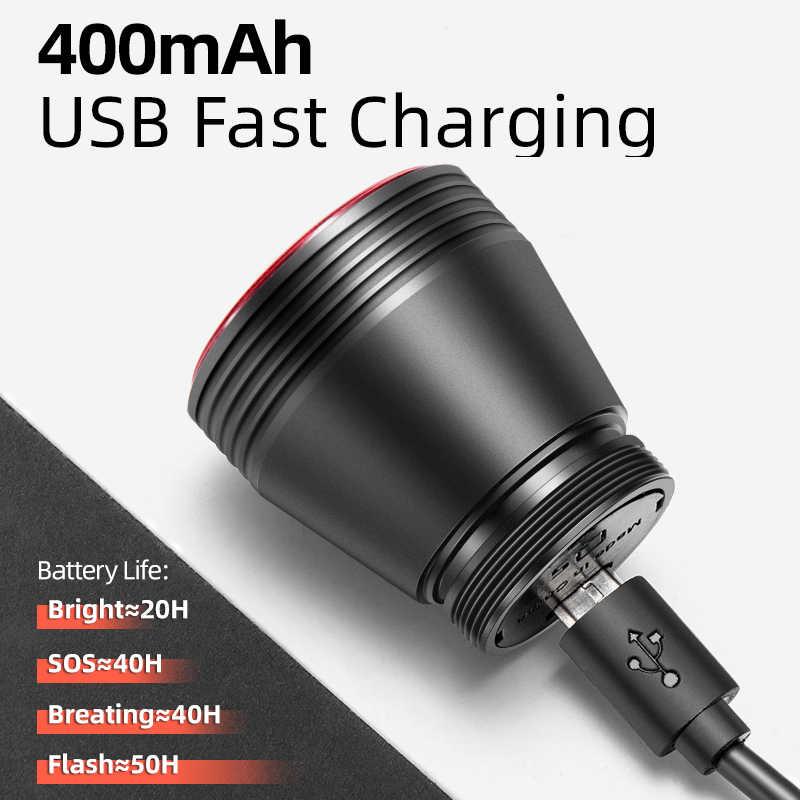 Rockbros Fiets Smart Auto Brake Sensing Licht IPx6 Waterdichte Led Opladen Fietsen Achterlicht Fiets Achterlicht Accessoires Q5