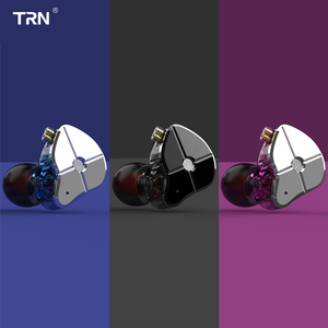 Image 4 - TRN ST1 1BA + 1DD Hybrid In Ear Oortelefoon DJ Monitor Running Sport Oortelefoon HIFI Metalen Headset Oordopjes KZZSN Pro CCACA4 NICEHCK DB3
