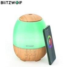 BlitzWolf BW FUN3 bezprzewodowy dostęp do internetu dyfuzor olejków eterycznych aromaterapia ultradźwiękowa nawilżacz kontrola aplikacji sterowania w domu 7 lampa kolorowa