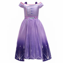Christmas frozen 2 elsa anna girls princess dress  kids cosplay