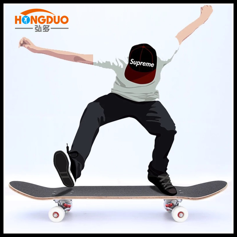 Manufacturers Direct Selling Four Wheel Maple Profession Skateboard Adult Skateboard Highway Skateboard  ride Instead Of Walk Do