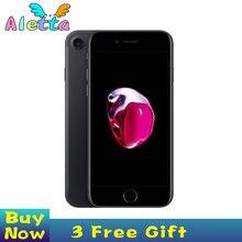 Odblokowany oryginalny Apple iPhone 7 4.7 cala Touch ID NFC ROM 32GB/128GB/256GB Smartphone A10 czterordzeniowy Apple Pay
