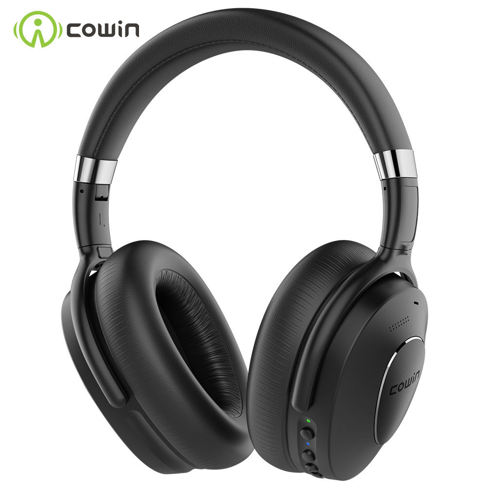 COWIN ANC SE8 Active Noise Cancelling Headphones Bluetooth Headphones Wireless Headset Over Ear with Mic SBC and AAC audio codec