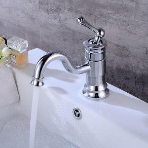 Basin Faucet chrome bathroom S