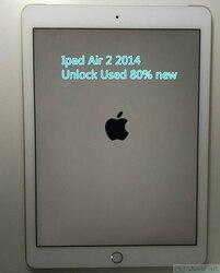 Original 80% New Used Apple iPad Air 2 IPad air 2014 Wi-Fi 9.7