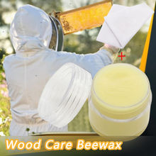 Wood Furniture Scratch Refinishing Paste Wood Care Wax Solid Wood Nutrition Wax Aluminum Canned Solid Wood Maintenance 20g(China)