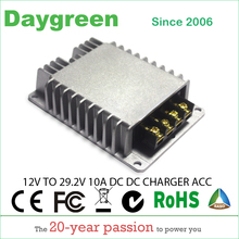 DC DC צעד למעלה ממיר מטען 12V כדי 24V 10A 20A 30A 40A 50A 60A עבור 29.2V lipo עזר סוללה תשלום 28V עופרת חומצת סוללה