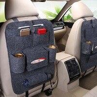 1 pçs saco de armazenamento assento do carro universal peças de automóvel para skoda octavia fabia rápido superb yeti roomster