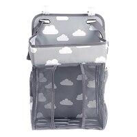 سرير الطفل حديثي الولادة حقيبة للحمل تغيير حفاضات الطفل العلبة متعددة الوظائف تخزين مقسم حقيبة مكدس حفاضات لتغيير الجدول