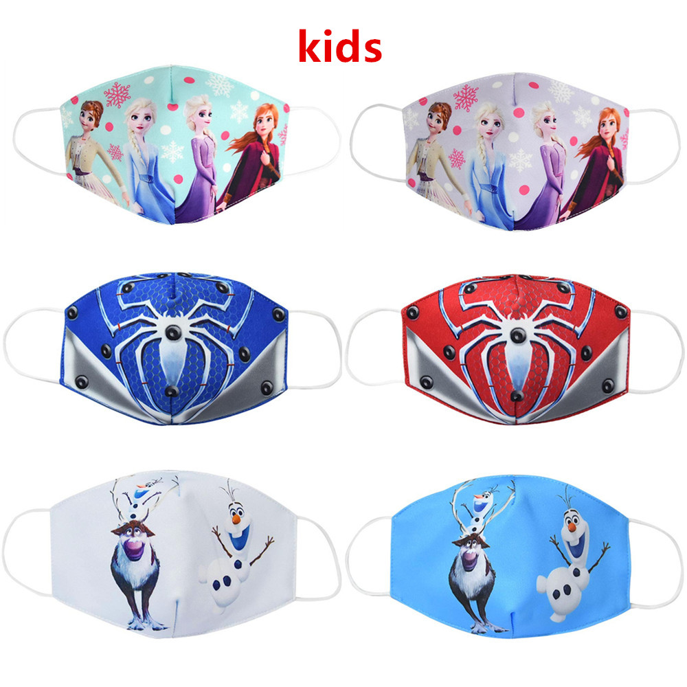 Child Anti Dust Ear Muffs Reusable Breathable Cotton Protective Children Kid Cartoon Cute Gasket Anti-Dust Mouth Ear Muffs