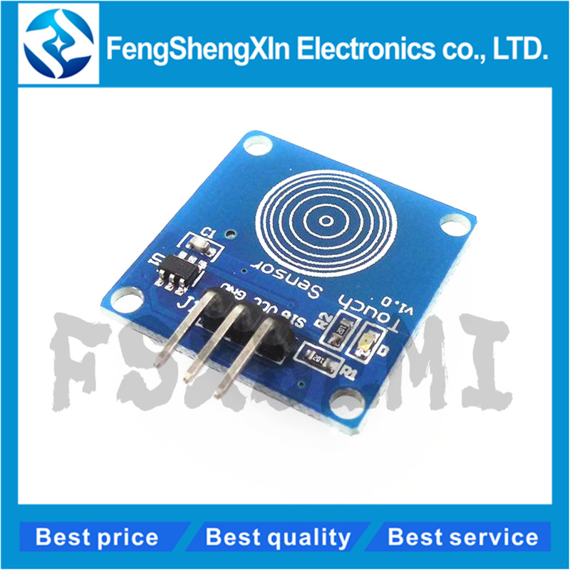 1 teile/los TTP223B 1 kanal Jog digital touch sensor kapazitive touch-touch schalter module Zubehör für arduino