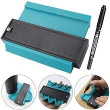 2 Pcs Plastic Gauge Contour Profile Copy Gauge Duplicator 5 Width Wood Marking Tool Set Tiling Laminate Tiles General Tools