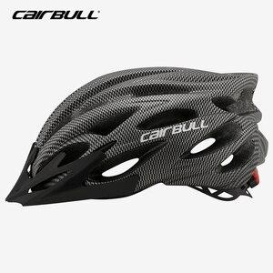 Image 5 - Casque de vélo à visière pour hommes et femmes, léger, pour vtt, vélo de route, Led, 54 62cm