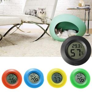 Household Mini Pet LCD Digital Thermometer Hygrometer Fridge Freezer Temperature Humidity Meter Detector Indoor Thermometer