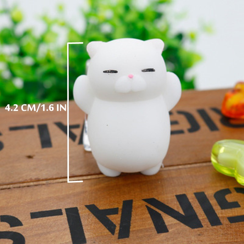 Mini Squishy Relief-Toys Mochi Sticky Ball Squeeze Funny Gifts Rising Cute Animal Soft img4