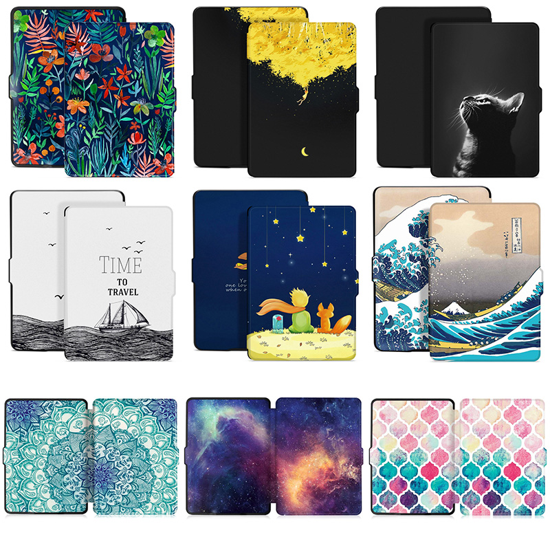 Kindle Paperwhite Case For Kindle Paperwhite 3/2/1 Cover (7th Gen 2012/2013/2015/2017 Release) With Auto Sleep/Wake Anti-fall