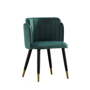Image 5 - Modern Formal Dinning Chairs Creative Solid Wood Makeup Chair European Fabric Office Meeting Office Shop Chair Furniture