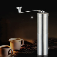 Stainless Steel Manual Coffee Grinder Set Coffee Mill Metal Hand Coffee Grinder Maker Portable Coffee Tools|Manual Coffee Grinders| |  -