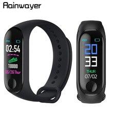 M3 Plus Smart Bracelet Heart Rate Blood Pressure Waterproof Bluetooth Watch Wris