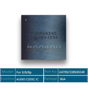 2pcs/lot 338S00248/U4700 for iPhone X/8/8 plus Big Audio Codec IC chip Sound Controller Speaker Ampl