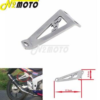 Motorcycle Muffler Pipe Holder For Suzuki GSXR 600 750 GSX-R 1000 Yamaha Kawasaki ZX6R ZX9R 1998-2006 Exhaust Hanger Brackets