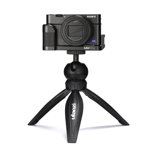 Image 4 - UURig R017 Vlog L Platte für Sony RX100 VII Kalten Schuh Montieren Mikrofon Griff Grip