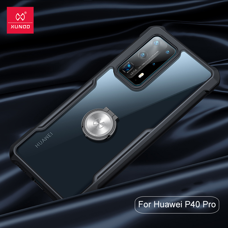 For Huawei P40 Pro Case XUNDD Airbag Shockproof Clear Acrylic Armor PC TPU Protective Back Cover for Huawei P40 hülle Populared(China)
