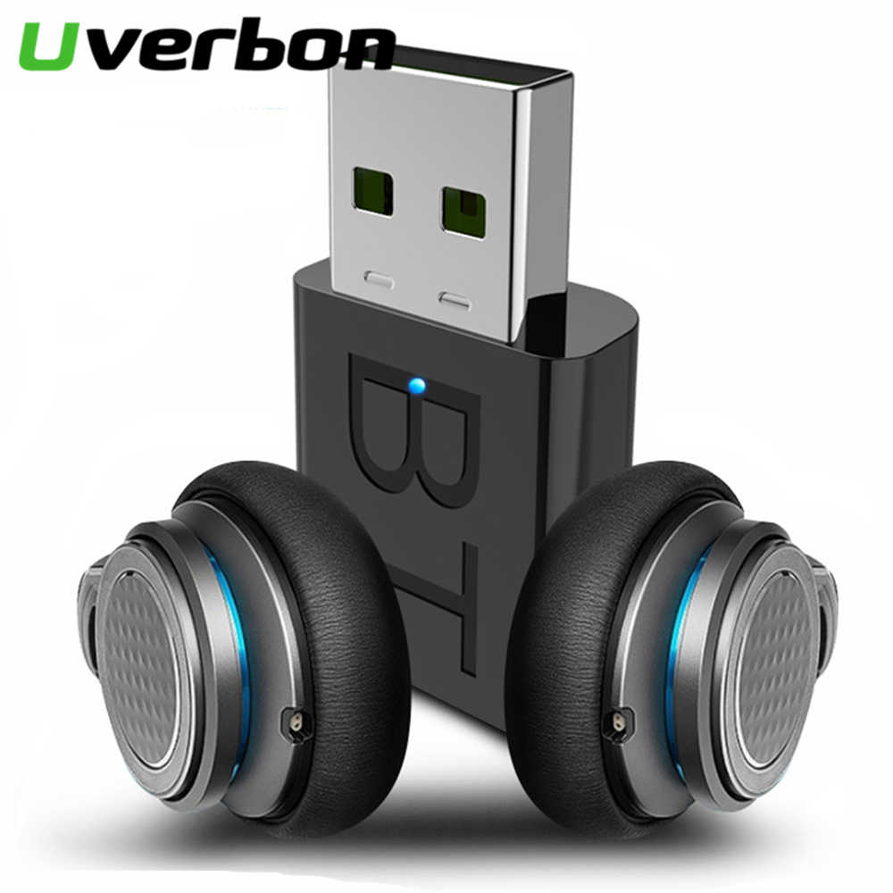 Mini transmisor USB Bluetooth 5,0, receptor estéreo con Bluetooth, RCA, USB de 3,5mm, AUX para TV, PC, auriculares, Audio HIFI estéreo para coche
