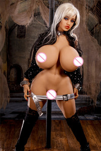 Image 2 - 140cm LVictoria lifelike TPE sex dolls and bones, artificial vagina oral anal doll love doll