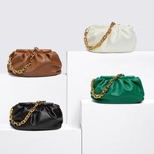 Skórzana torba na ramię pokemon luksusowe torebki damskie torebki projektant torebki damskie dla kobiet 2020 nowe sprzęgło torebki i torebki tanie tanio Hobos Torby na ramię Na ramię i torby crossbody Hasp SOFT Solidna torba Moda 1111 Poliester Wszechstronny WOMEN Stałe