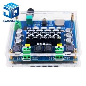 Image 2 - XH A105 Bluetooth 5.0 TDA7498 דיגיטלי מגבר לוח 2x100W רמקול סטריאו אודיו AMP מודול תמיכה TF כרטיס AUX