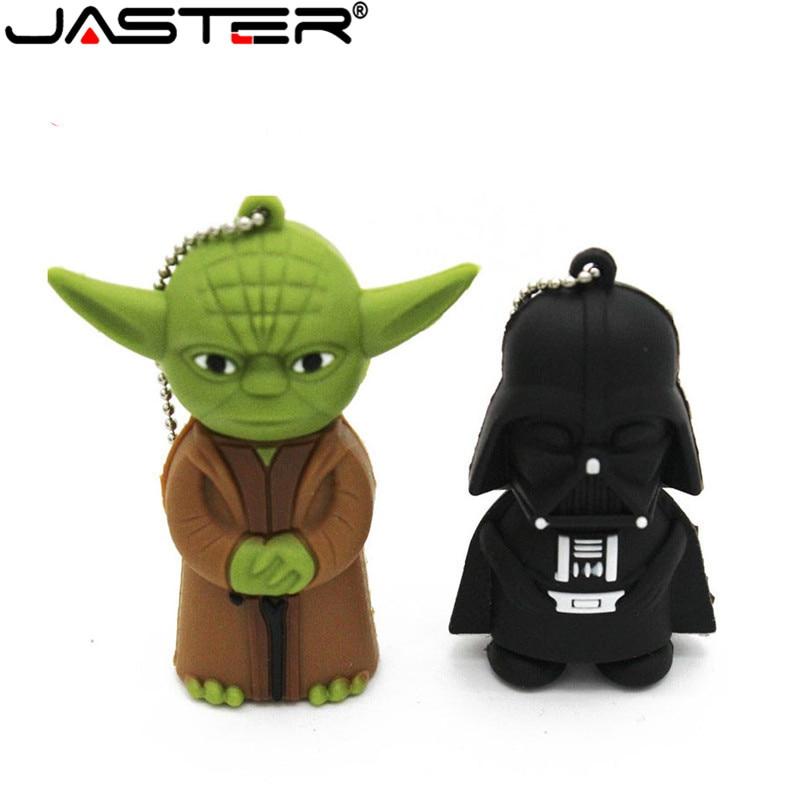 JASTER Cartoon USB Pen Drive Darth Vader 4GB/8GB/16GB/32GB Usb Flash Drive USB 2.0 Flash Memory Stick Pendrive U Disk