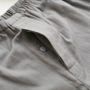 Image 5 - Qweekメンズパジャマセット綿着物スパースターhombreパジャマオムソフトホームウェア2個パジャマ和風
