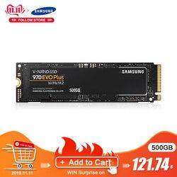 Samsung Ssd M.2 1 ТБ 250gb 500gb 970 Evo Plus Nvme Внутренний твердотельный диск Жесткий диск M2 2280 Mlc Pcie Gen 3,0X4, Nvme 1,3