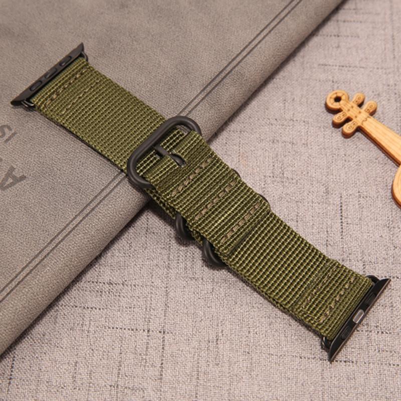 Strap For Apple Watch Band 5 4 3 44mm 40mm Correa Iwatch Band 42mm 38mm Sport Nylon Wrist Bracelet Belt Apple Watch Accessories