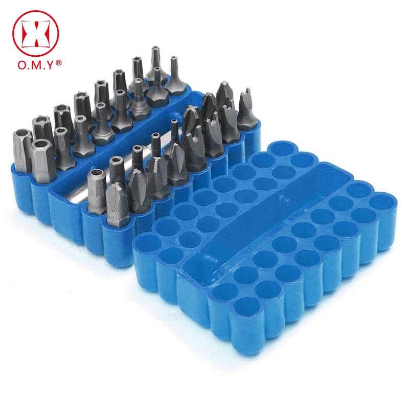 33pc Hollow Screwdriver Bits Suit Safety Screws Hex Screws Bits For Electric Screwdriver Accessories Tamperproof Screwdriver Set