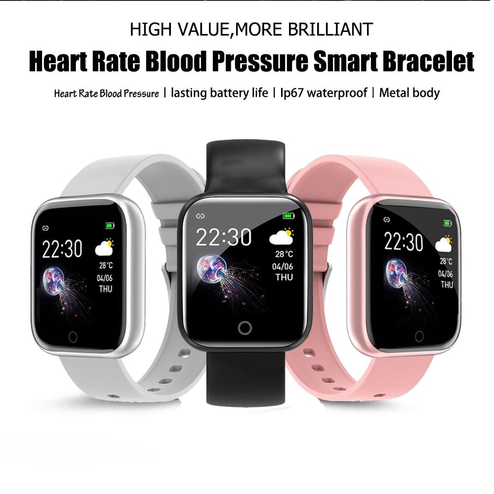 I5 Sport Smartwatch donna uomo frequenza cardiaca pressione sanguigna Fitness Tracker bambini Smart Clock per Android IOS Smart Watch PK IWO P80 2