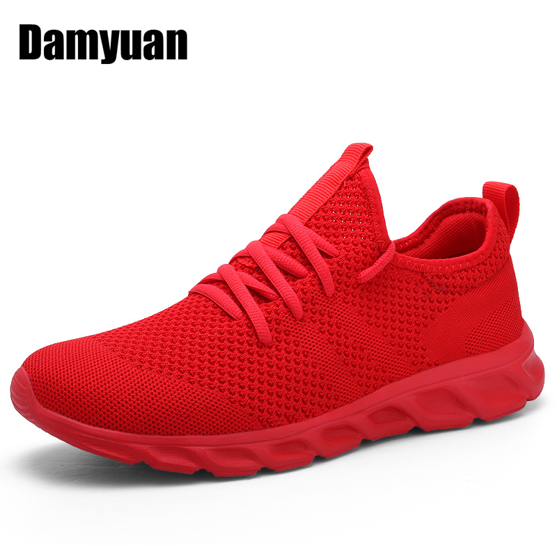 Damyuan Sneakers Shoes Lightweight Tennis Spring Non-Slip Breathable Casual Men Zapatillas title=
