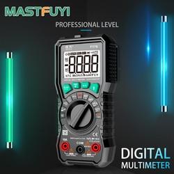 Mastfuyi FY76 Digital Multimeter 6000 Counts High Speed Auto Range Tester Intelligent NCV True RMS Temperature AC/DC Voltage