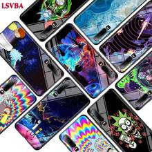 Rick and morty Fashion for Huawei P Smart Z Plus 2019 P30 P20 Pro P10 P9 P8 Lite Super Bright Glossy Phone Case Cover