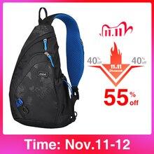Mixi moda męska plecak jedno ramię torba na klatkę piersiowa mężczyzna Messenger chłopcy University School Bag przyczynowe podróże służbowe 17 19 cali M5207