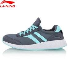 Li-ning ln listra clássico estilo de vida sapatos luz forro wearable li ning esporte sapatos lazer tênis agcn086